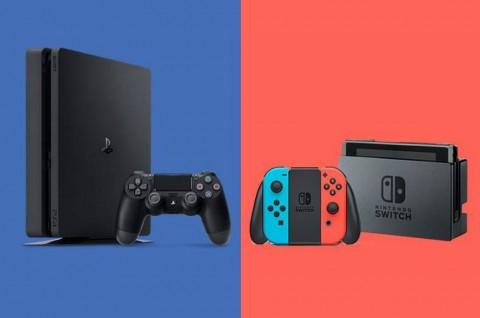 Penjualan Nintendo Switch di Asia Naik, Mulai Susul PS4