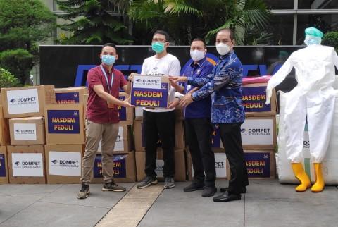 Fraksi NasDem DPR Sumbang APD Senilai Rp500 juta