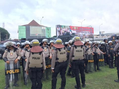 1.600 Aparat Gabungan Dikerahkan Saat PSBB Palembang dan Prabumulih