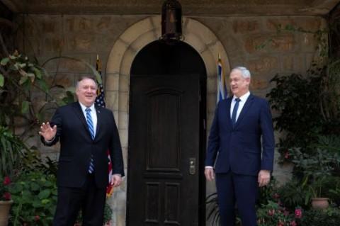 Ke Yerusalem, Menlu AS Bahas Aneksasi Tepi Barat