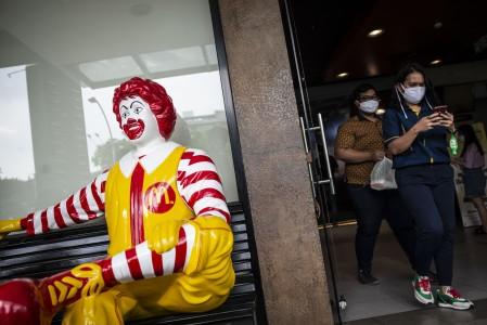 McDonald's Sarinah Didenda Rp10 Juta
