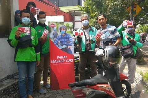 Stimulasi Pendara Wajib Masker di Momen PSBB