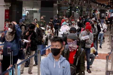 Suasana Terkini Bandara Soekarno-Hatta