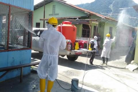 122 Warga Pasar Lama Sentani Reaktif Korona