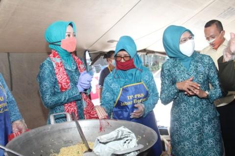 2.800 Dapur Umum Dibangun di Jawa Barat