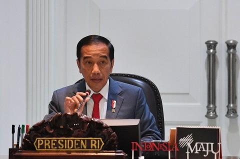 Jokowi Belum Berniat Melonggarkan PSBB