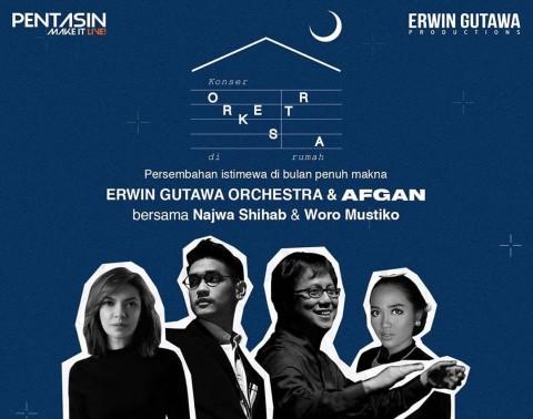 Erwin Gutawa Gelar Konser Orchestra Bareng Afgan dengan Nuansa Islami