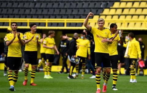 Hasil Lengkap Liga Jerman: Dortmund Cukur Schalke, Leipzig Ditahan Imbang