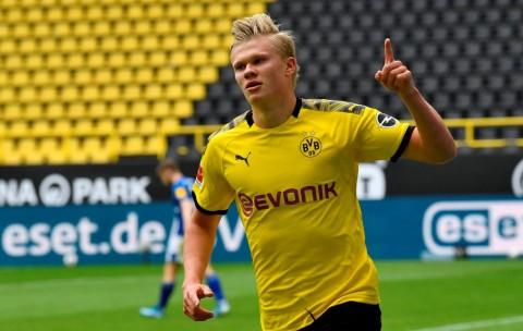 Cetak Gol ke Gawang Schalke, Haaland Mengaku Belum Maksimal