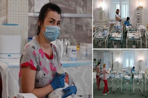 100 Bayi di Ukraina Telantar di Tengah Lockdown