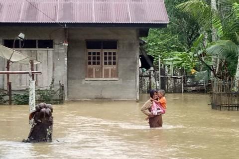 Banjir Rendam 292 Rumah di Kabupaten Aceh Jaya