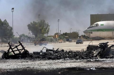 Pasukan Nasional Libya Tembak Jatuh Drone Turki