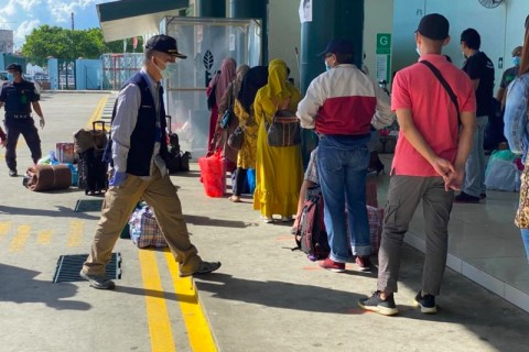 111 WNI Dipulangkan dari Malaysia di Tengah Pandemi Korona