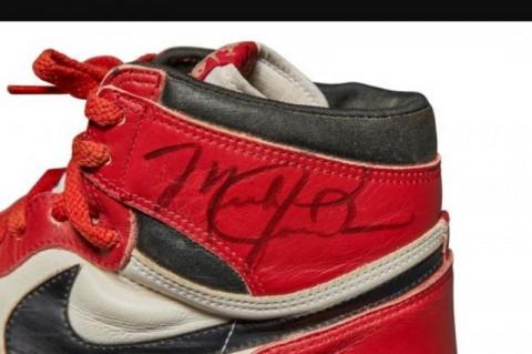 Sepatu Musim Pertama Michael Jordan Laku Rp8,2 miliar
