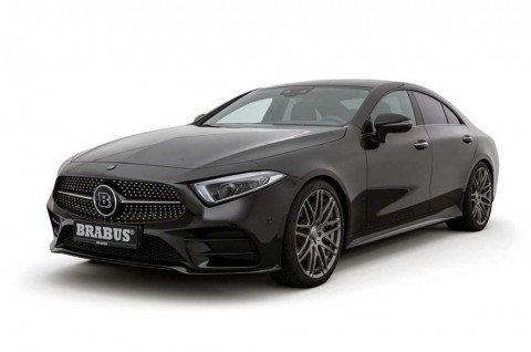 Modifikasi Minimalis Brabus Sukses Bikin Mercedes-Benz CLS Lebih Elegan