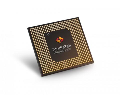 MediaTek Rilis Chipset Smartphone 5G, Dimensity 820