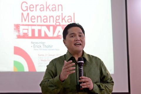 Menteri BUMN Diminta Peka Terhadap Sensitivitas Keagamaan