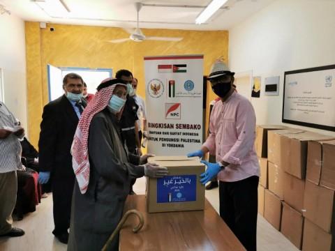 Indonesia Bagikan 600 Sembako untuk Masyarakat Palestina