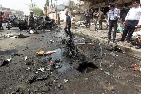 Roket Hantam Area Dekat Kedubes AS di Baghdad
