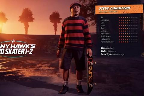 Tony Hawk's Pro Skater Remaster Tampilkan Skater Berusia Tua