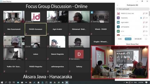 Direstui Pemerintah, PANDI Mulai Daftarkan Domain Aksara Jawa Ke ICANN