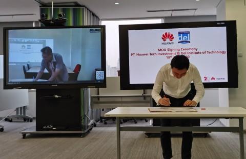 Huawei Gandeng Institut Teknologi Del Sumatera Utara untuk Transformasi Digital