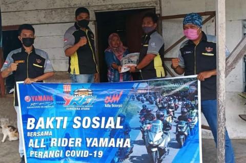 YRFI Sumatera Utara Bersatu Gelar Baksos Peduli Covid-19