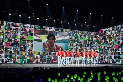 NCT 127 Perdana Bawa Lagu Punch di Konser Beyond Live
