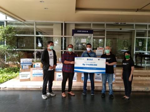 Blibli.com Salurkan Bantuan Senilai Rp175 Juta Melalui DKMG