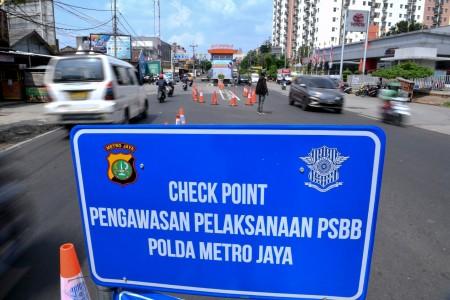40 Ribu Kendaraan Melanggar PSBB Jakarta