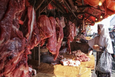 Daging Sapi Oplosan Nihil di Pasar Yogyakarta
