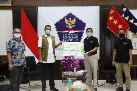 Gugus Tugas Terima Donasi Rp2 Miliar dari Pegadaian