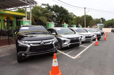 Oknum Anggota Polres Bintan Gelapkan Puluhan Mobil