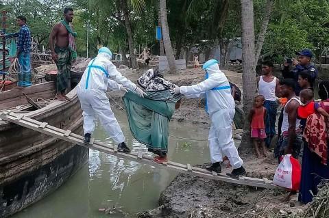 Hindari Badai Amphan, Puluhan Ribu Warga India dan Bangladesh Dievakuasi