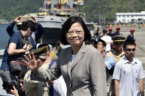 Presiden Taiwan Dilantik untuk Periode Kedua