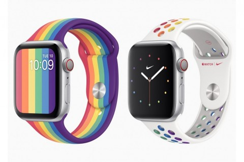Apple Rilis Dua Tali Pride Edition untuk Apple Watch