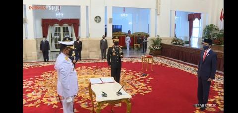 Yudo Margono Jadi Kepala Staf Angkatan Laut