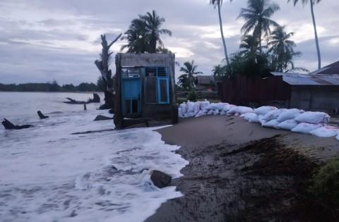 21 Rumah di Aceh Selatan Terkena Abrasi Pantai