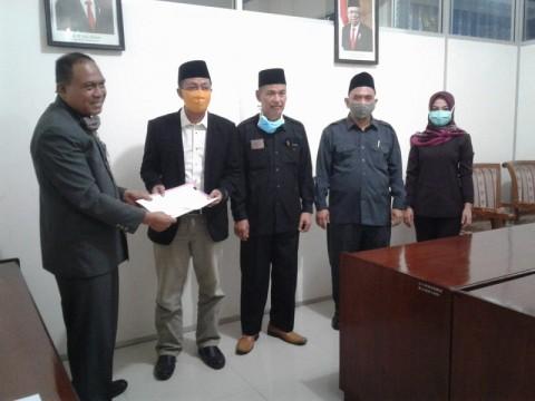 BK DPRD Jepara Terima Laporan Mosi Tidak Percaya Ketua DPRD