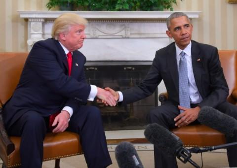 Hubungan Memburuk, Trump Tak Undang Obama Buka Lukisan