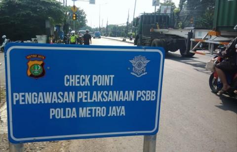 Polisi Diminta Tegas Menindak Pelanggar PSBB