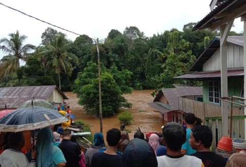 Lima Kelurahan di Lubuklinggau Diterjang Banjir Bandang