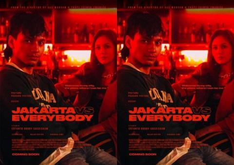 Penampilan Berbeda Jefri Nichol di Poster Film Jakarta Vs. Everybody