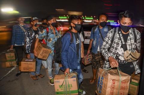 Nekat, Calon Pemudik Dikembalikan ke Jakarta