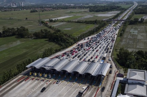 8.013 Kendaraan Diputar Balik ke Jakarta