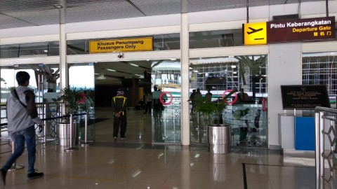 H-2 Lebaran, Bandara Sultan Hasanuddin Telah Layani 9.290 Penumpang