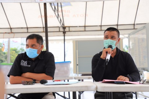 Pemkot Surabaya Intensifkan <i>Rapid Test</i>