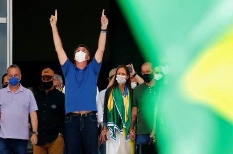 Kasus Covid-19 di Brasil Tertinggi Kedua setelah AS
