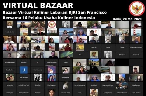 KJRI San Francisco Gelar Bazaar Virtual Kuliner Lebaran