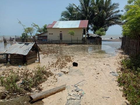 Banjir Air Pasang Purnama Melanda Pidie Jaya dan Lhokseumawe